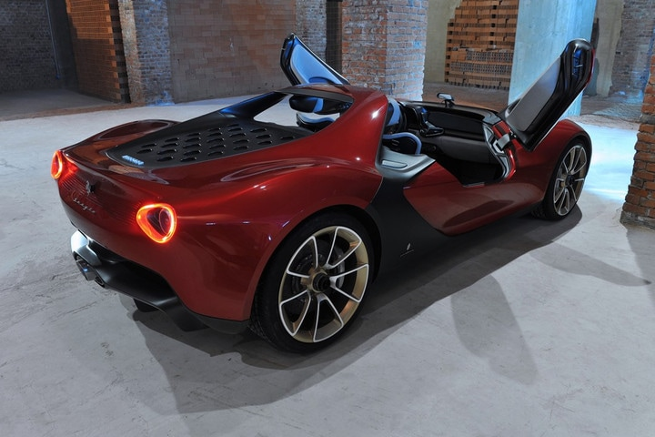 '' Ferrari Pininfarina Sergio '' Future 2017 Cars Design Concepts & Photos