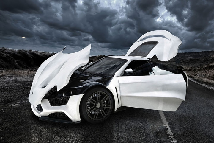 ''Zenvo ST1 '' Future 2017 Cars Design Concepts & Photos