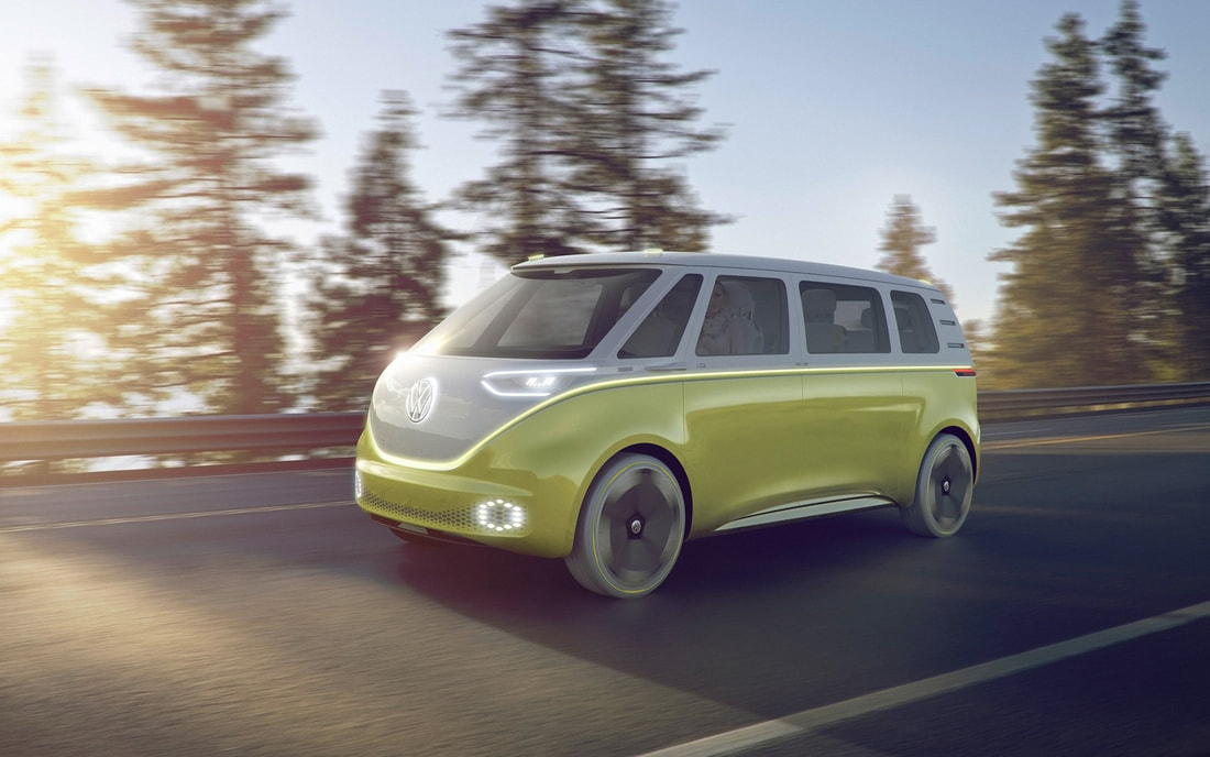 2018 Car Worth Waiting For, 2018 Volkswagen I.D. Buzz Concept , Car Class of 2018