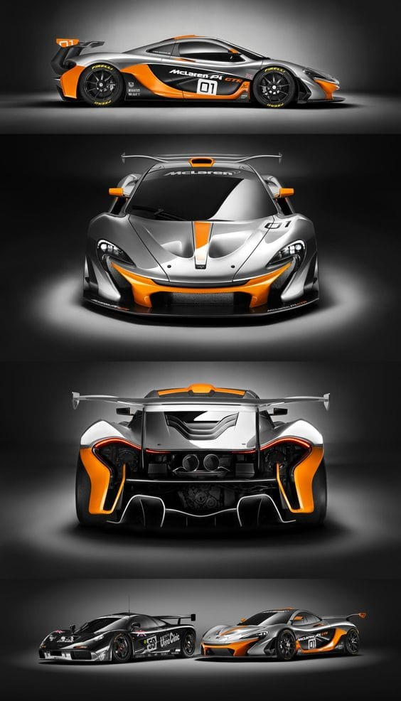 "Top New Car Releases! ''McLaren P1 GTR"" Best New Concept Cars For The Future"