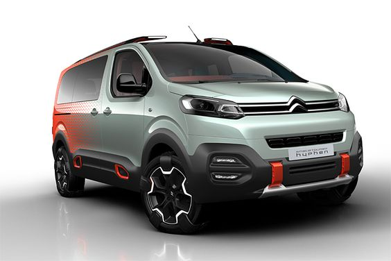 Newcarreleasedates.com ''2017 Citroen 4x4 van concept car, the SpaceTourer Hyphen