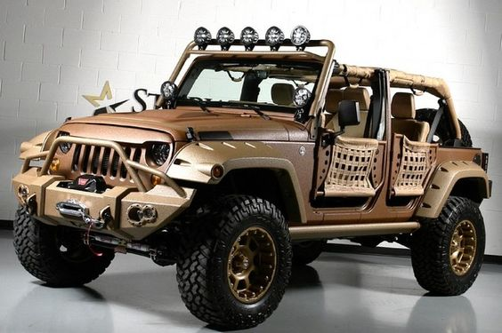 ''2017 Canyon Ranch Kevlar Jeep Wrangler