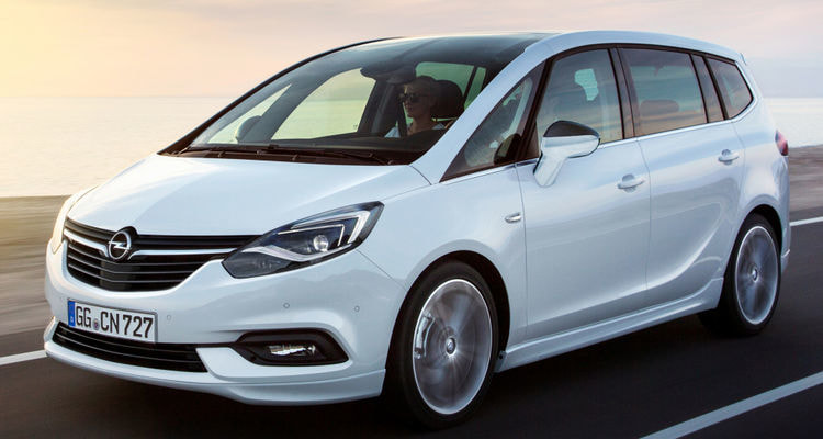 Comparison vans 2018: purchase guide: 2018 Opel Zafira