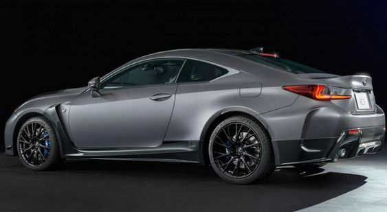Lexus celebrates the tenth anniversary of its F high performance model