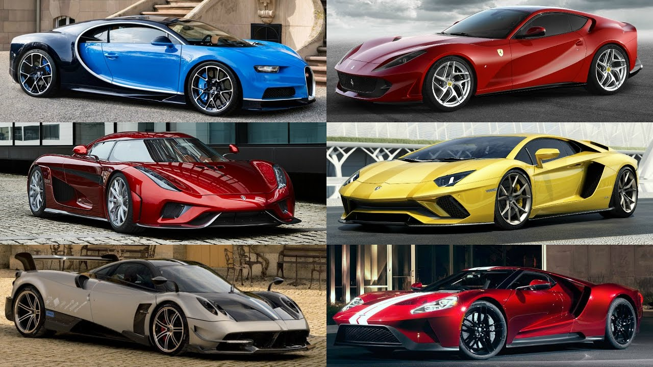 Top Fastest Supercars : Which One Would You Drive?