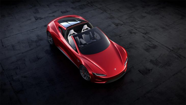 Marketed For 2020, the new Tesla Roadster will offer nearly 1000 km of range and a top speed of 400 km / h.