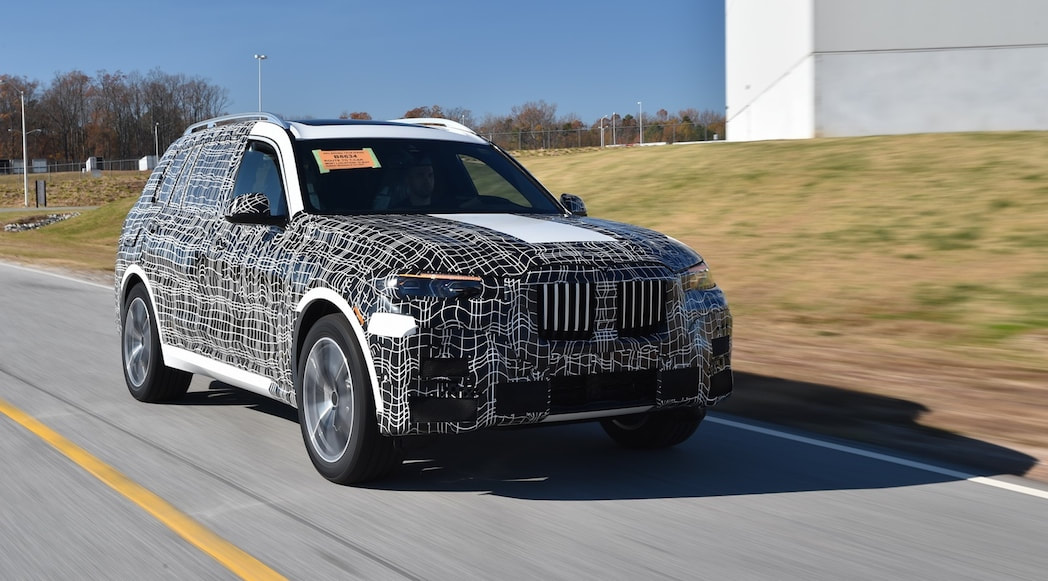The 2019 BMW X7 gets ready for real life, Production to begin