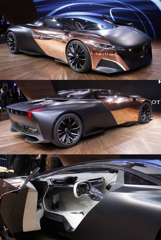 ​Women drivers rev my engine - ​Peugeot Onyx Concept