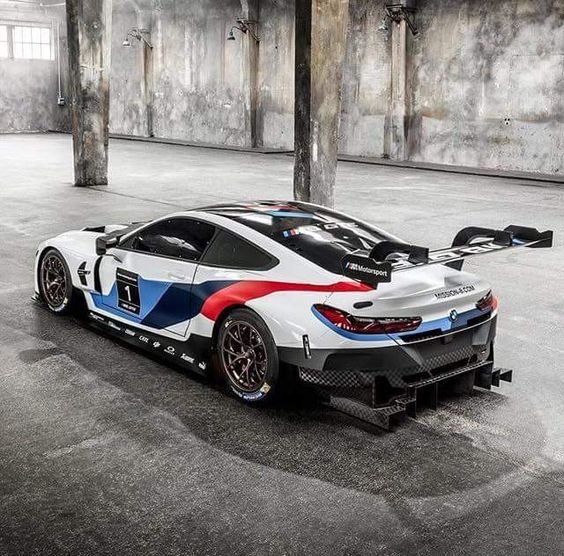 There is a great deal of advertising that is much better than the product. BMW M8 GTE