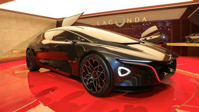 Performance Car of the Year All-electric 2019 Aston Martin Lagonda