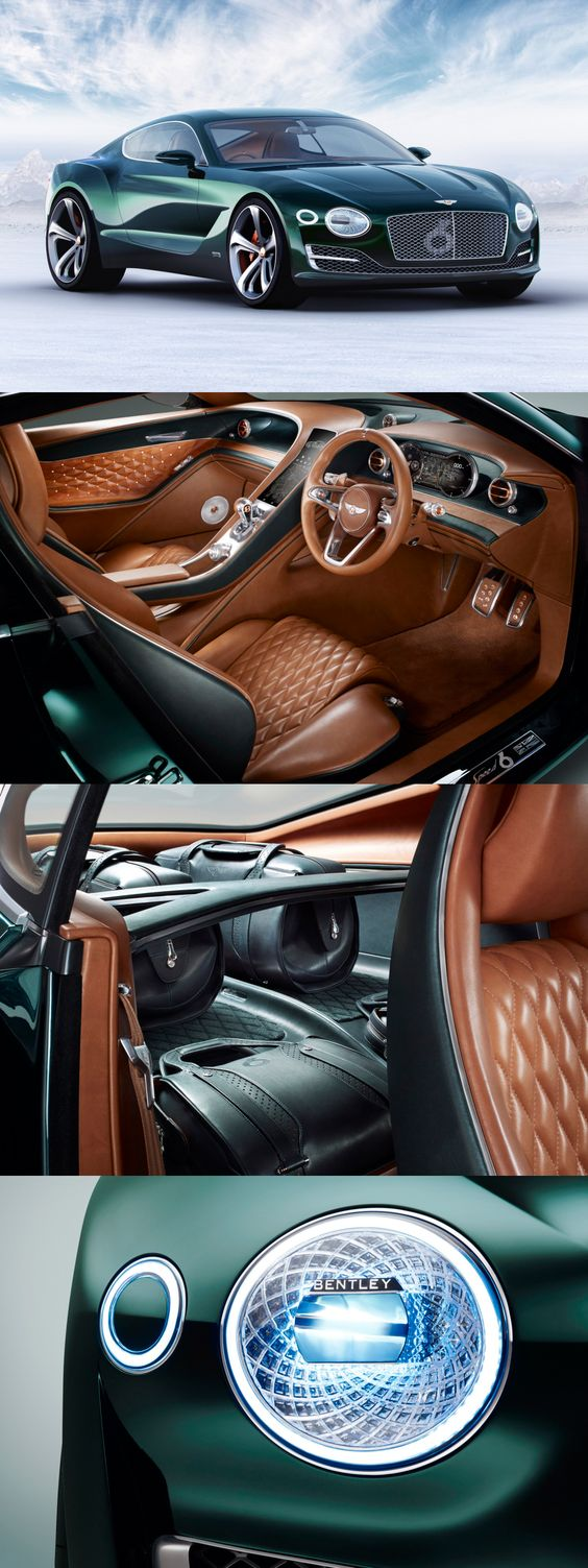 Dream Car : 2019 Bentley EXP 10 Speed 6 Concept, Exotic Car, Super Cars