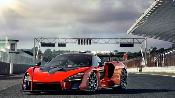 Dream as if you'll live forever, Drive as if you'll die today - 2019 Mclaren Senna