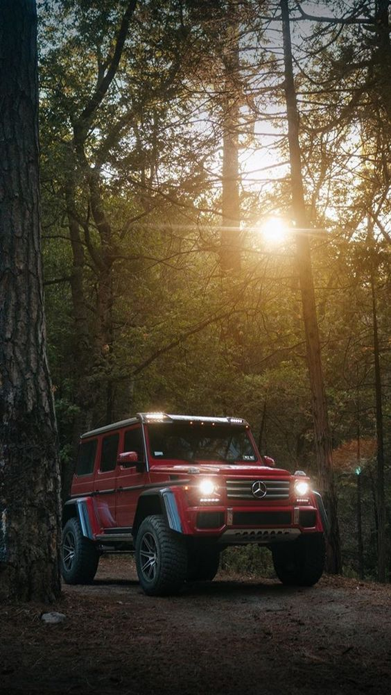 Think of all the beauty still left around you - Mercedes G63