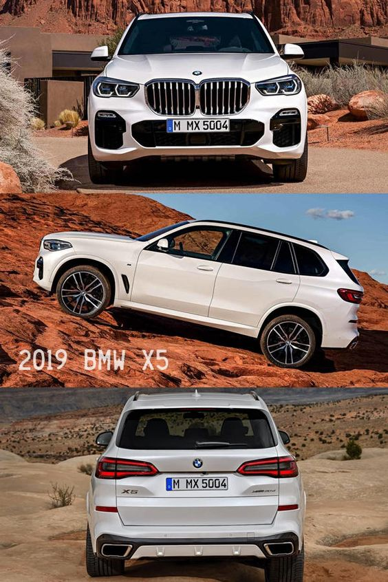 Achieving a goal is nothing. The getting there is everything. New BMW X5 2019