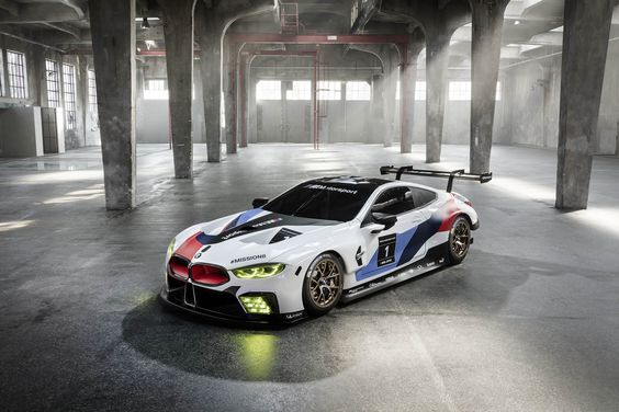 We need to stop interrupting what people are interested in  BMW M8 GTE