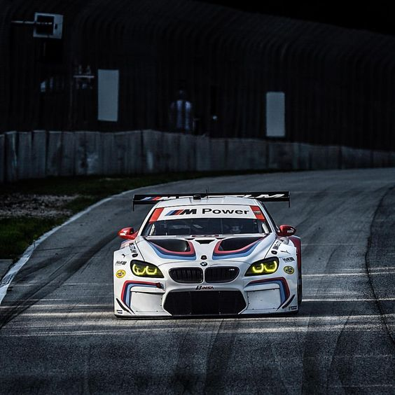 Think of yourself as an uninvited guest in the living room BMW M8 GTE