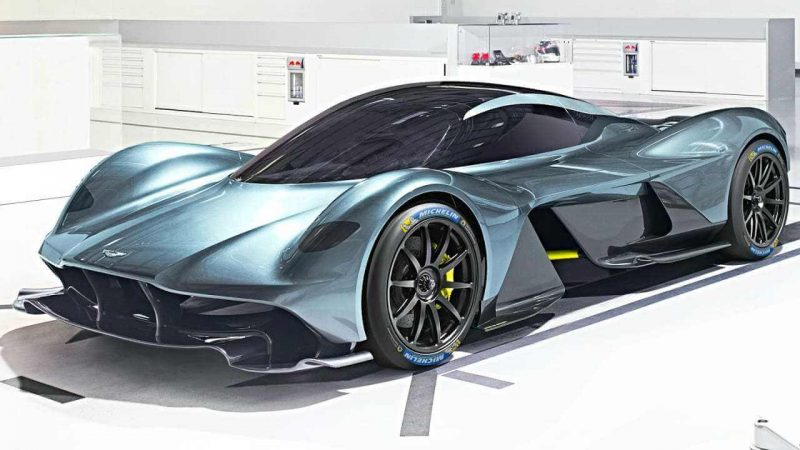 Most of American life consists of driving somewhere and then returning home, wondering why the hell you went - Aston Martin Valkyrie