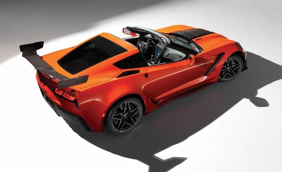 Luxury sports car - Chevrolet Corvette ZR1 Convertible - New sports cars for 2019