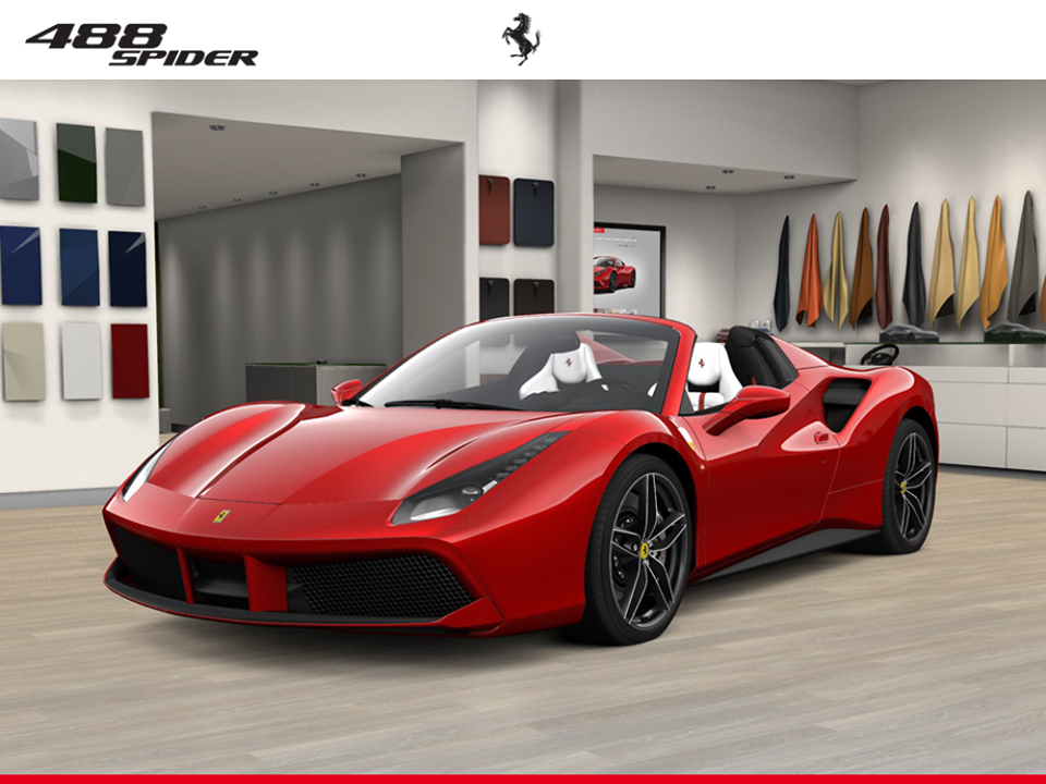 Knowing yourself is the beginning of all wisdom - Ferrari 488Spider