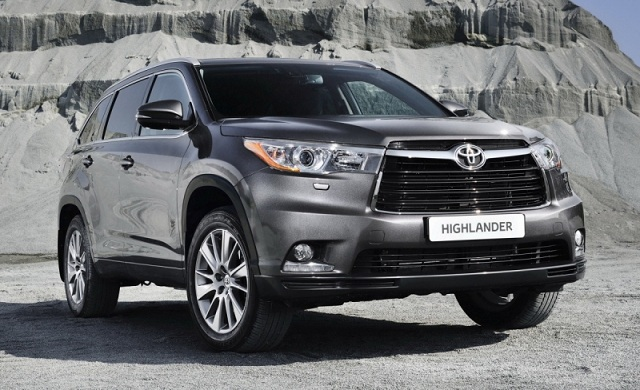 New ''2016 Toyota Highlander'' Suv and Crossover Review, Release Date, Spy Photos, Engine, Price, Specs
