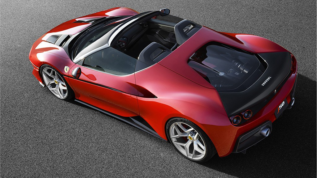 '' Ferrari Bespoke J50 '' Cars Design And Concepts, Best Of New Cars, Awesome Cars