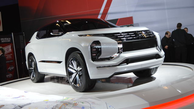 TO BE SEEN ABSOLUTELY 2018 Mitsubishi GT-PHEV Concept