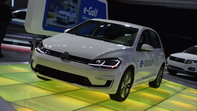 TO BE SEEN ABSOLUTELY 2018 Volkswagen e-Golf