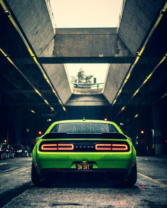 ​End of the blame game - ​Dodge challenger