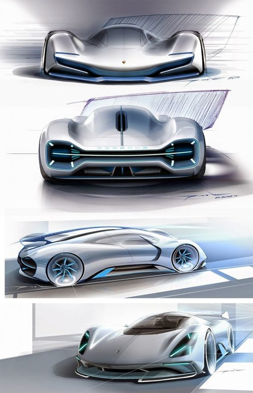 Newcarreleasedates.com MUST SEE - New 2017 Porsche Le Mans  Concept Car Photos and Images, 2017  Porsche Le Mans Concept Car