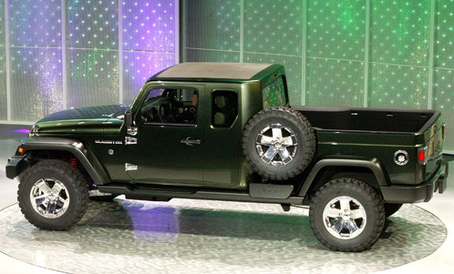 New 2018 Jeep Gladiator pickup truck - Best Trucks for 2018 Reviews, Price, Photos, Specs