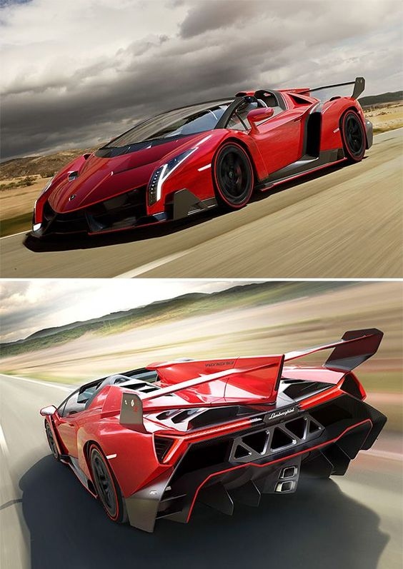 """It must be the car. Chick's always dig the car"" - Lamborghini Veneno Roadster"