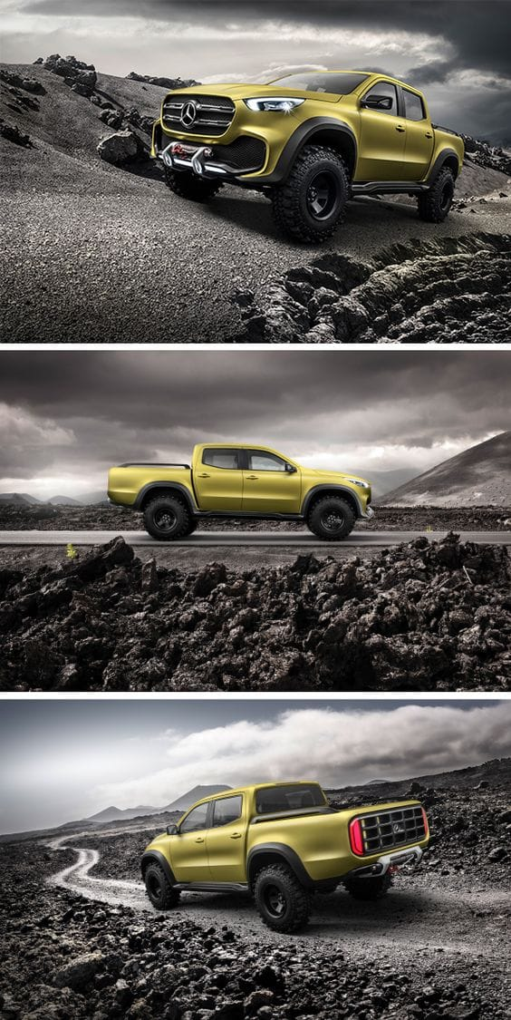 MUST SEE '' Mercedes-Benz Concept X-Class '' Future 2017 Cars Design Concepts & Photos