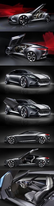 Newcarreleasedates.com New ''2017 Hyundai HND-9 Luxury Sports Coupe