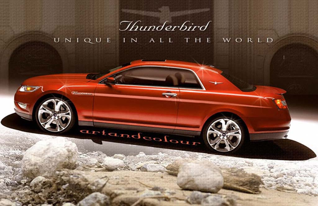 SUPER HOT DEAL On A 2018 Ford Thunderbird Release Date, Prices, Reviews, Specs And Concept