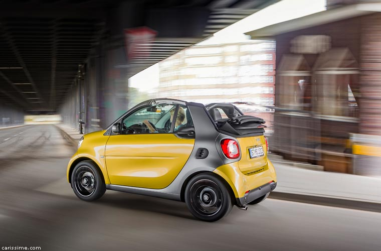 MUST SEE ALL NEW 2018 SMART 3 CABRIO - SMALL CONVERTIBLE 2 PLACES