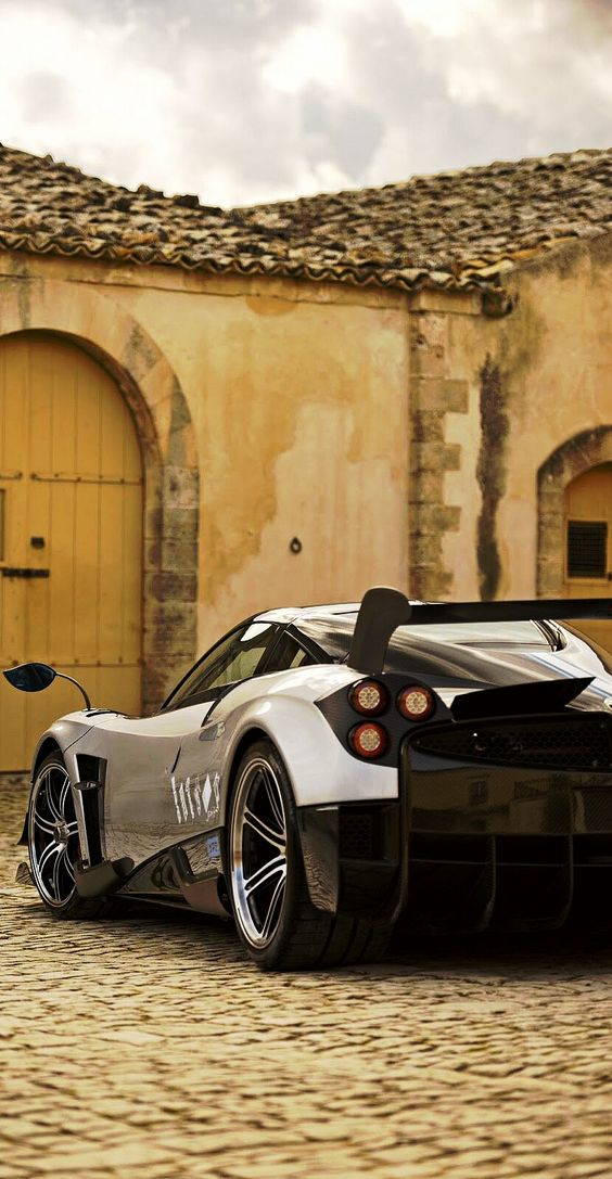 """Some drivers deserve to walk."" -  Pagani Huayra BC"