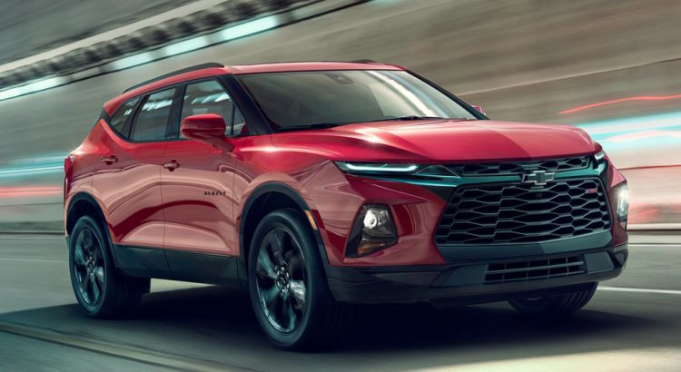 Chevrolet Blazer 2018 The First Suv Muscle Car To Taste Of Camaro