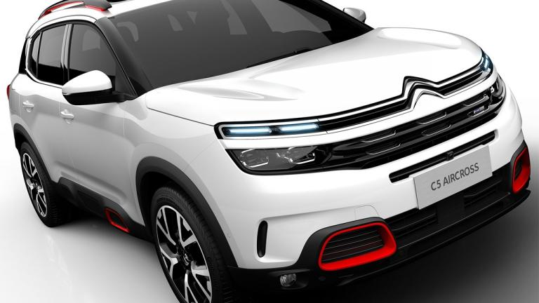 2018 Citroën C5 Aircross - Release Date  second half of 2018