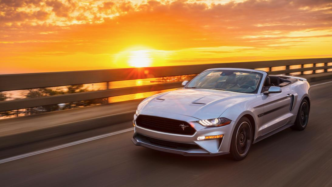 Nostalgia as a sales tool: the Mustang GT California Special returns for 2019