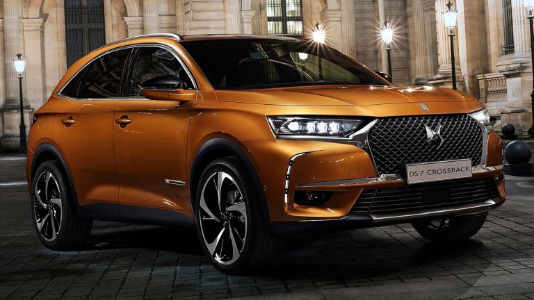 2018 DS7 Crossback - the new flagship of the French brand will be available In 2018