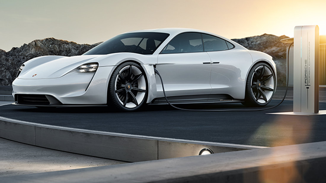 The first fully electric Porsche car will arrive in 2019 ready to compete with Tesla