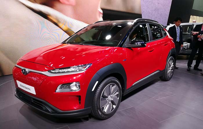 402 kilometers of autonomy for the 2019 Hyundai Kona electric in EPA cycle