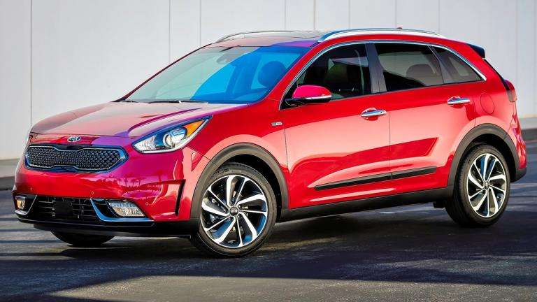 2018 Kia Niro PHEV - the hybrid plug-in variant has been available since the beginning of the year