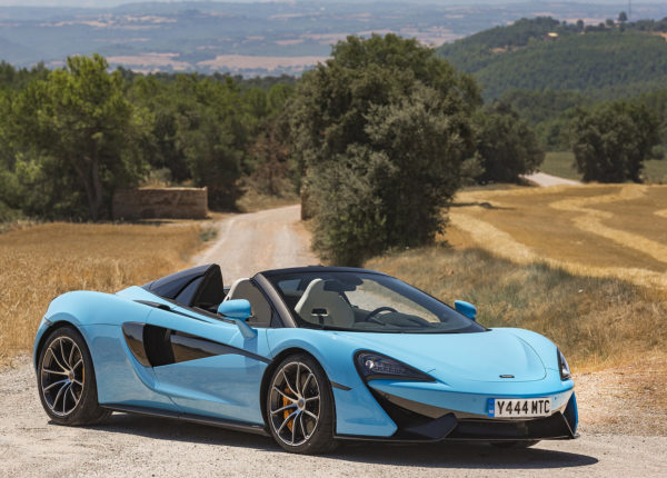 WOW 2018 McLaren 570S Spider, One Great Looking Sports Car