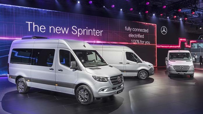 The new Mercedes eSprinter will arrive in 2019