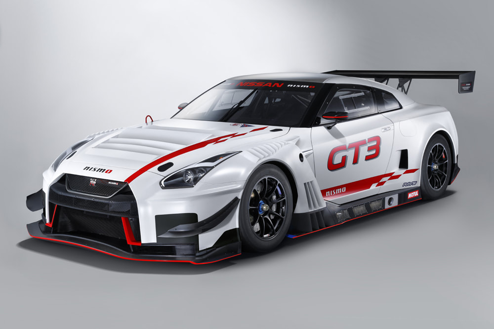 Nissan introduces the renewed GT-R NISMO GT3 2019