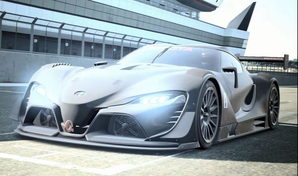 "MUST SEE "" 2017 Toyota FT-1 Vision Gran Turismo"", 2017 Concept Car Photos and Images, 2017 Cars"
