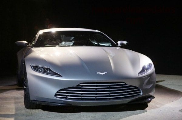ASTON MARTIN DB10 IN THE TRAILER OF THE NEW JAMES BOND MOVIE