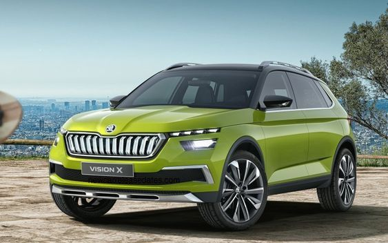 "MUST SEE NEW ""2018 Skoda Vision X concept SUV""  Concept Release Date, Price, News, Reviews"
