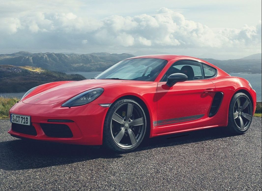 Money cannot buy peace of mind but a really nice car. 2019 Porsche Cayman 718 T
